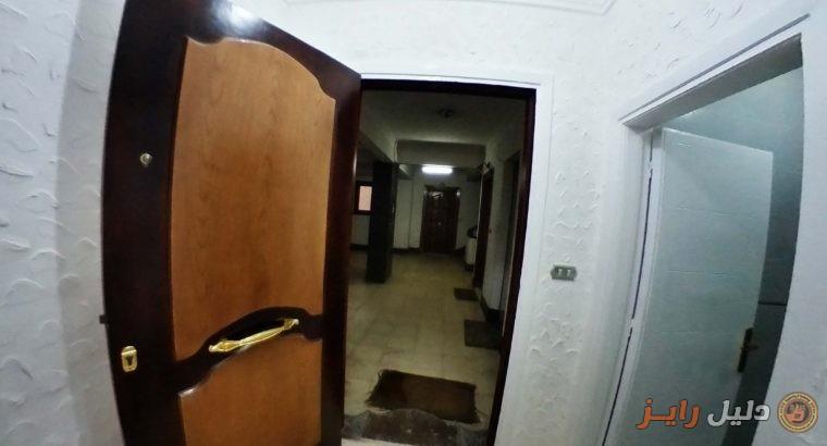 شقة للايجار بسموحة للشركات – الدور الثانى 170 م
