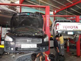 ورشة متنقلة لاصلاح السيارات
