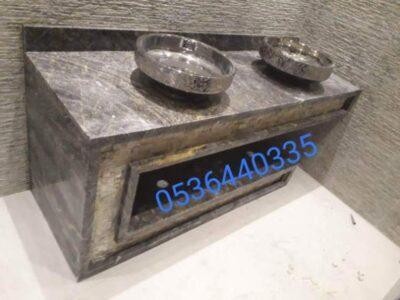ديكورات مغاسل رخام صناعي